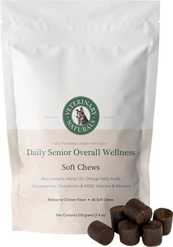 Veterinary Naturals Probiotic Hemp & Health Soft Chews