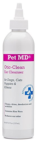 Pet MD Otic Clean Dog Ear Cleaner