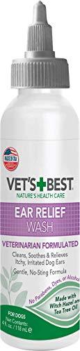 Vet's Best Ear Relief Wash Cleaner