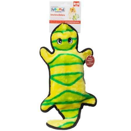 Outward Hound Invincibles 4 Squeak Gecko
