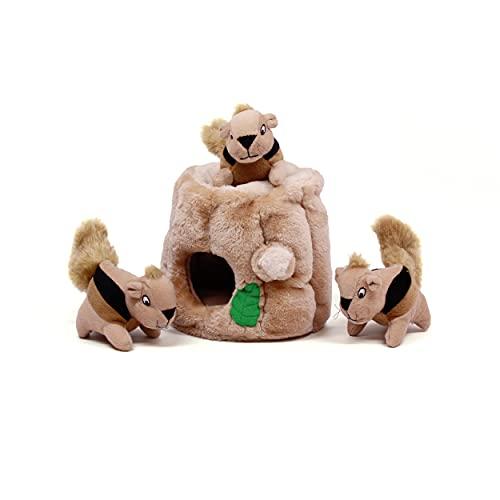 Outward Hound Hide-A-Squirrel Dog Toys