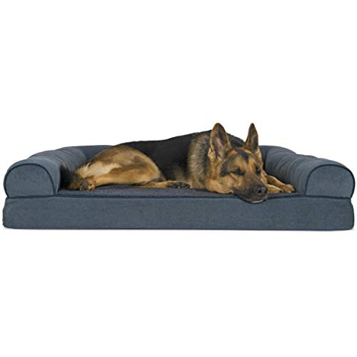 FurHaven Small Quilted Orthopedic Sofa Pet Bed
