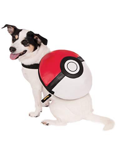 Rubies Poke Ball Backpack Dog Costume