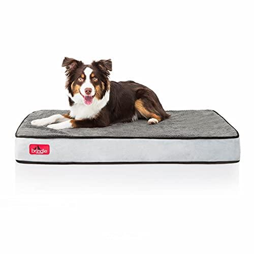 Brindle Soft Velour Pet Bed