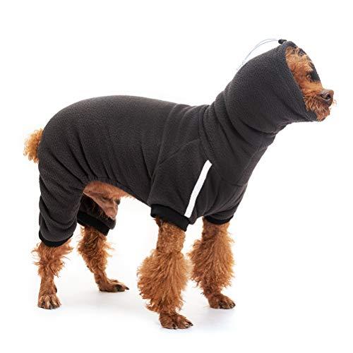 Expawlorer Plush Fleece Dog Hoodie