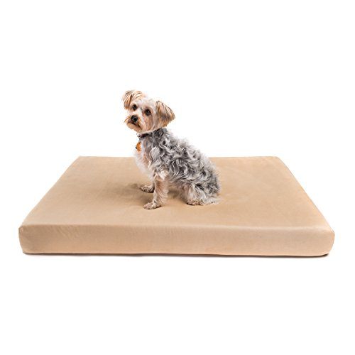 Romilton - 'The Charlie Premium Orthopedic Memory Foam Dog Bed. Water Resistant Cover is Removable...