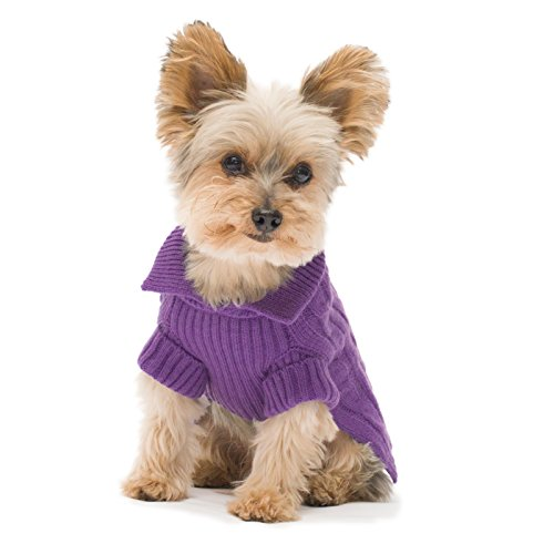 Stinky G Violet Aran Sweater