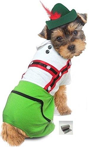 Oktoberfest Lederhosen Alpine Dog Costume