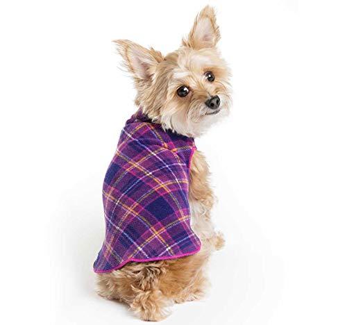 Gold Paw Stretch Fleece Dog Coat