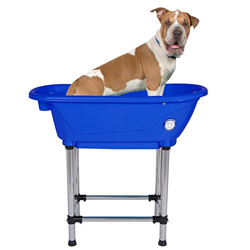 Flying Pig Portable Royal Blue Bath Tub