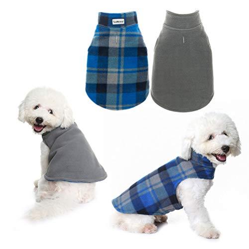 Scenereal Winter Reversible Dog Fleece Jacket