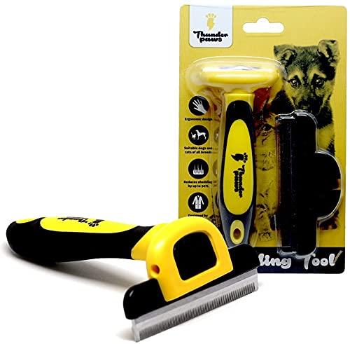 Thunderpaws De-shedding Tool & Grooming Brush