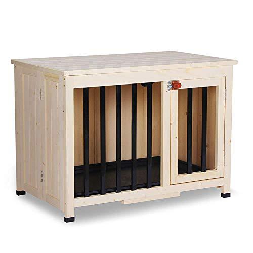 Lovupet Wooden Portable Pet Crate