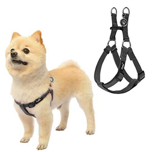 PupTeck Adjustable Basic Nylon Step In Dog Harness