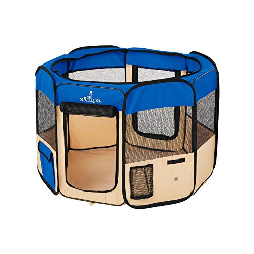 Zampa Foldable Pet Playpen