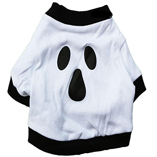 Halloween White Ghost Dog Costume
