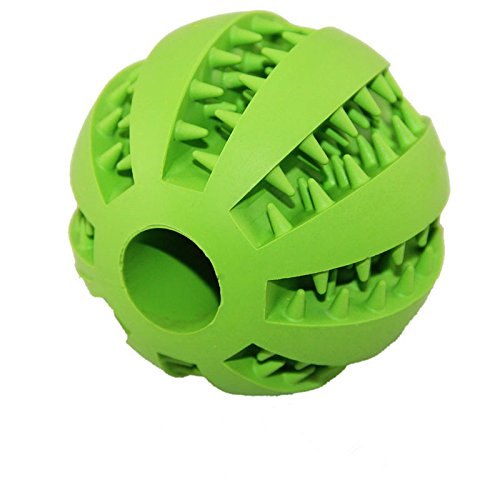 Leeaw Dog Ball Soft Rubber Chew Toy