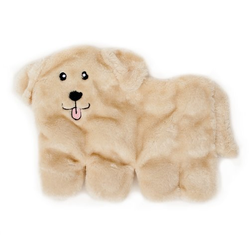 ZippyPaws Squeakie Pup 11-Squeaker No Stuffing Toy