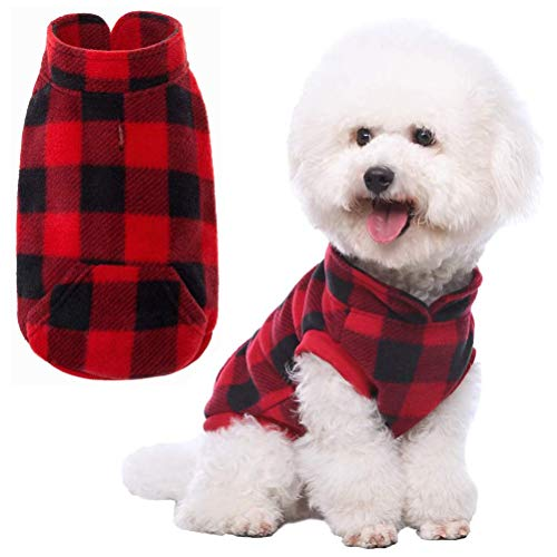KoolTail Plaid Dog Fleece Vest