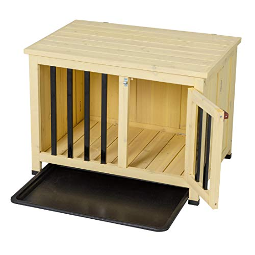 Good Life Wooden Dog Crate