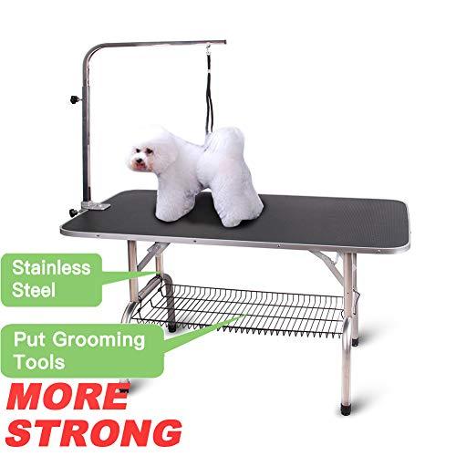 Polar Aurora Pingkay Foldable Grooming Table