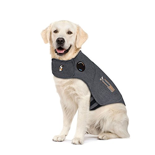 ThunderShirt Classic Dog Anxiety Jacket, Heather Gray, X-Large