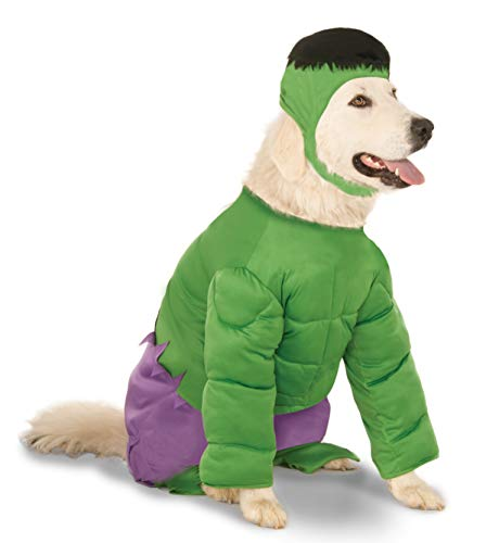 Rubies The Incredible Hulk Dog Costume