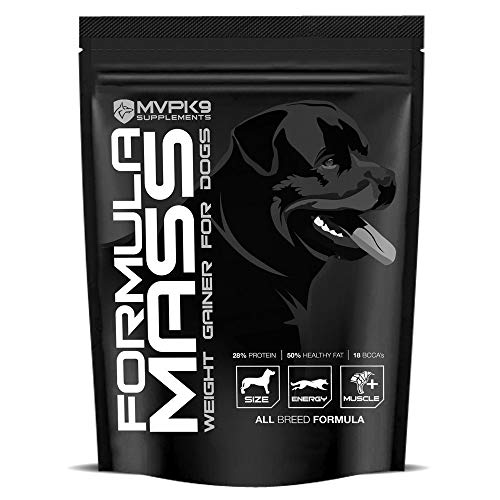 MVP K9 Supplements Formula Mass Weight Gainer