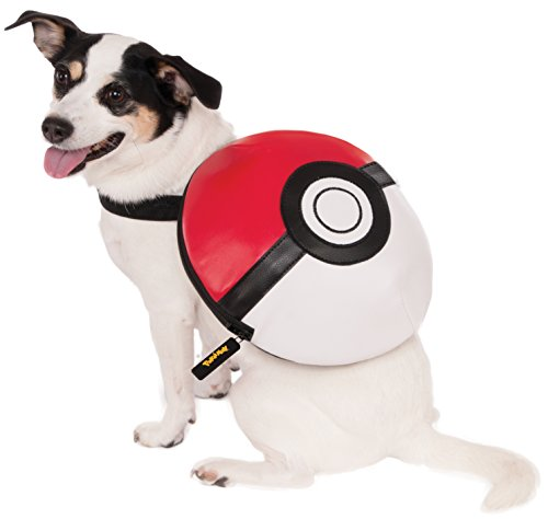 Rubies Poke Ball Backpack Dog Costume