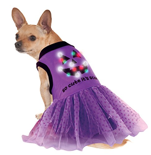 Rubie's LED Light-Up Halloween Dog Dress Costume