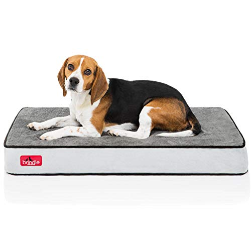 Brindle Soft Velour Pet Bed