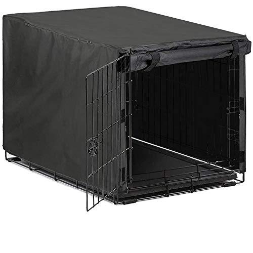 Avanigo Black Dog Crate Cover