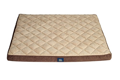 Serta Orthopedic Quilted Couch Pet Bed