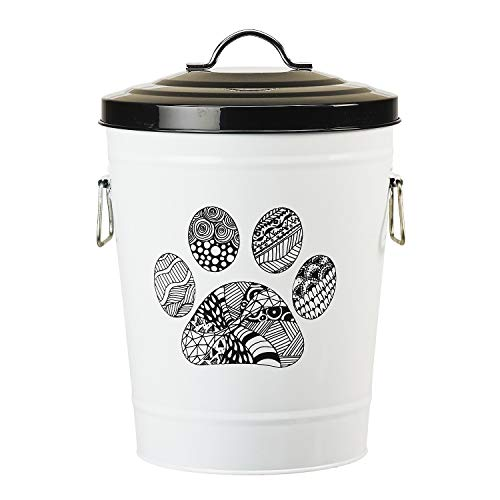 Amici Pet Zentangle Pet Food Storage Bin