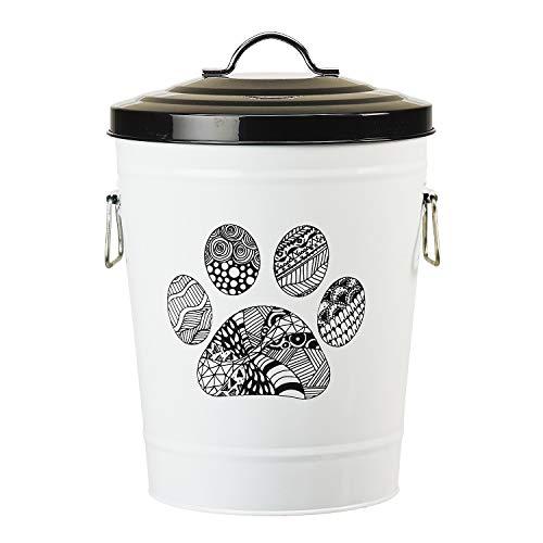 Amici Pet Zentangle Pet Food Storage Bin
