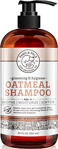 Oxgord Organic Oatmeal Dog Shampoo & Conditioner