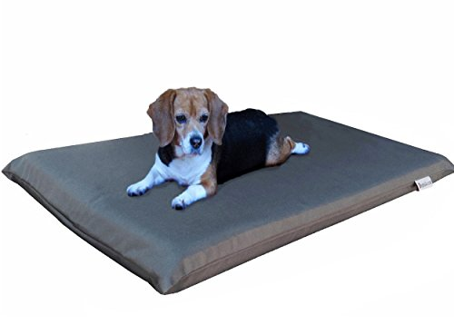 Dogbed4less Gel Cooling Memory Foam Dog Bed