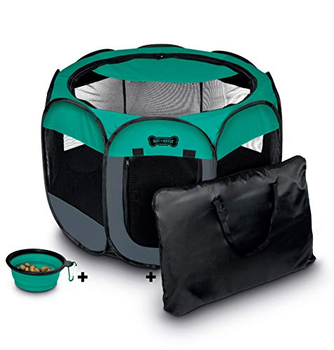 Unleashed Pets Portable & Foldable Pet Playpen