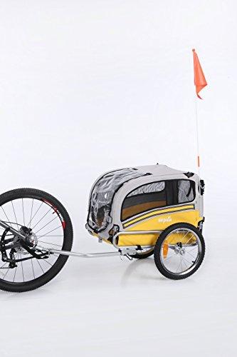 Sepnine Dog 2-in-1 Medium Dog Bike Trailer