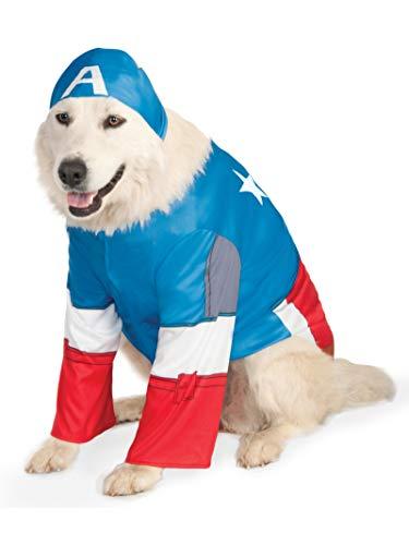 Rubies Captain America Dog Costume