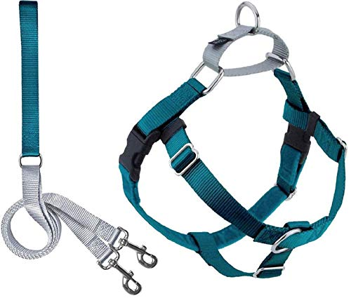 2 Hounds Design Freedom No Pull Dog Harness | Adjustable Gentle Comfortable Control for Easy Dog...
