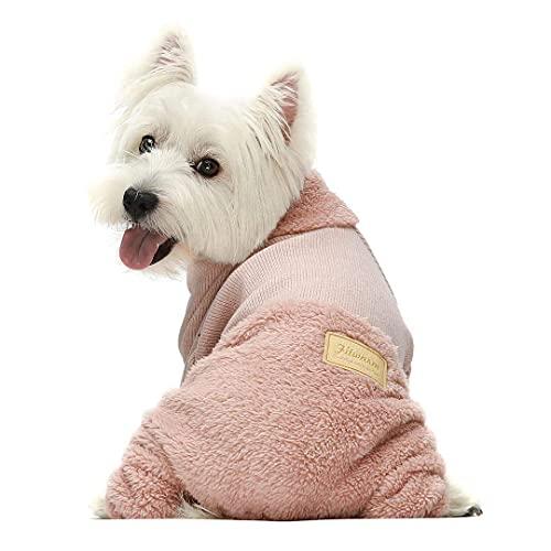 Fitwarm Turtleneck Knitted Dog Jumpsuit