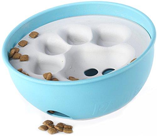 PAW5 Rock 'N Bowl Puzzle Feeder Dog Bowl