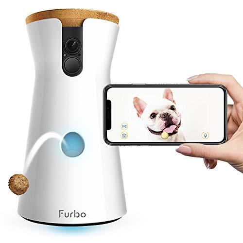 Furbo Treat Tossing HD WiFi Camera With 2-Way Audio
