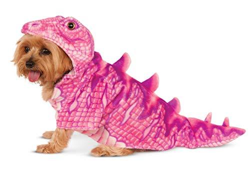 Rubies Pink Dino Hoodie Pet Costume