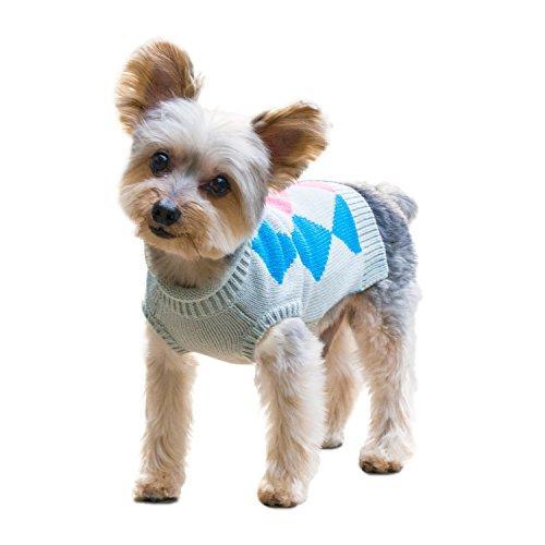 Stinky G Argyle Patterned Sweater