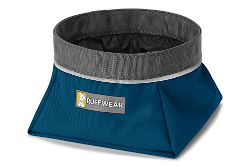 RUFFWEAR - Quencher Waterproof, Collapsible Dog Bowl, Forest Green, Medium