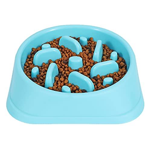 JASGOOD Dog Feeder Slow Eating Bowl