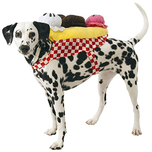 Rubie's Banana Split Ice Cream Sundae Dog Costume