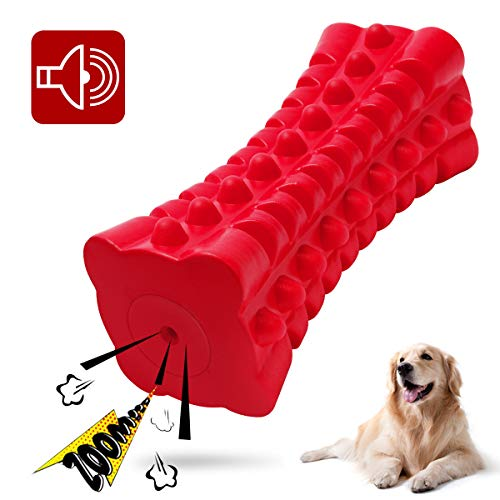 VANFINE Dog Squeaky Toys Almost Indestructible Tough Durable Dog Toys Dog chew Toys for Large Dogs...